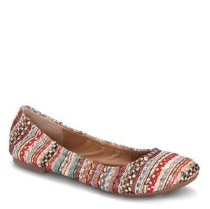 Lucky Brand Sequin Emmie Flats Size 8M